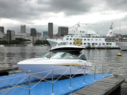 Píer para embarcações